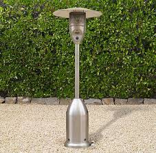 Propane Patio Heater Safety Floor Propane Patio Heater Polished Stainless Steel