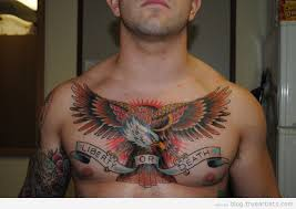considering getting a chest tattoo to cover up scars what say you