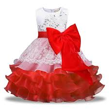 2018 Fancy Baby Girls Kids Clothes Children Christmas Dress New