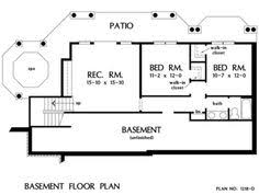 Ranch With Basement Floor Plans House Plan Showing A Sample Basement Floor Plan House