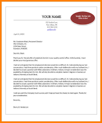 7 employment offer letter templates resigning letter