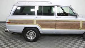 1988 jeep wagoneer 1988 jeep grand wagoneer for sale youtube