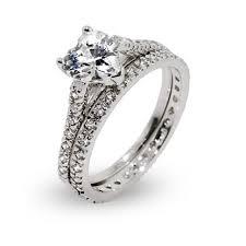 Cubic Zirconia Wedding Rings by Wedding Rings Cubic Zirconia Wedding Rings Amazon Rose Gold