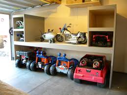 Toy Organization by Garage Storage For Power Wheels Google Search Kid Stuff