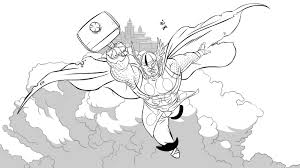 13 images of thor symbol coloring pages thor hammer coloring