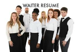 waiter resume sample waiter resume sample job winning resume