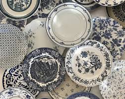 mismatched plates wedding plates etsy