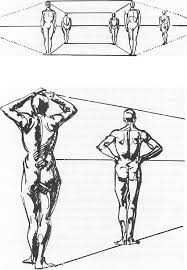 drawing figures u0026 people in perspective drawing with one point two
