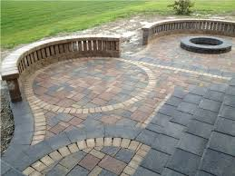 Patio Brick Pavers Brick Paver Designs For Patio