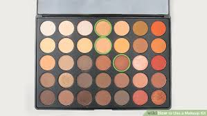 Makeup Kit 3 ways to use a makeup kit wikihow