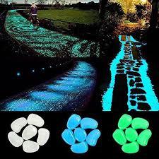 glow stones ihome set 300 pcs glow stones glow in the pebbles for