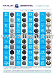 plating colour chart for metal accessories buy plating colour