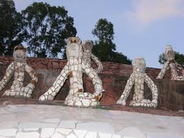 the rock garden of chandigarh an example of recycled waste