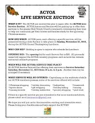 date thanksgiving 2015 acyoa thanksgiving luncheon and live service auction