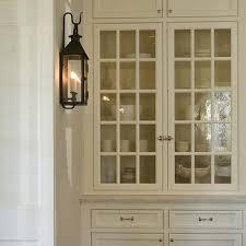 carriage lantern black china cabinet design ideas