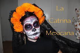 la catrina mexicana tutorial youtube