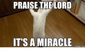 Praise The Lord Meme - praise the lord it s a miracle com lord meme on me me