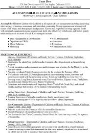 Msw Resume Social Worker Resume Masters Degree Social Worker And Therapist