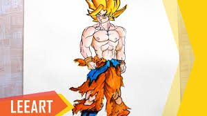 drawing dragon ball characters drawing art ideas