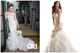 Celebrity Wedding Dresses Celebrity Wedding Gowns The Look For Less
