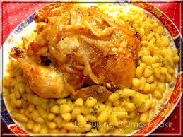comment cuisiner des haricots blancs poulet parfumé rôti sur lit d haricots blancs en sauce la
