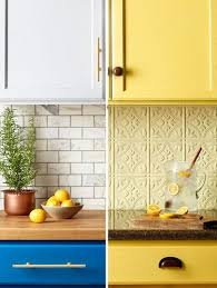 Kitchen Yellow - easy kitchen makeovers with color cheap kitchen updates