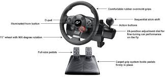 amazon black friday logitech logitech playstation 3 driving force gt racing wheel video games