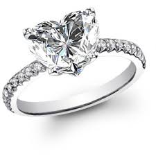 heart shaped wedding rings heart shape engagement rings