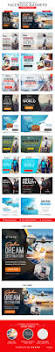 tours u0026 travels facebook banners 10 designs template psd ads