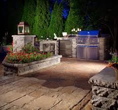outdoor kitchen lights outdoor kitchens and lighting cutting edge hardscapes