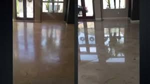Laminate Travertine Flooring San Diego Travertine Floor Restoration And Polishing Youtube