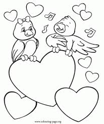 brilliant and stunning valentines day coloring pages with regard