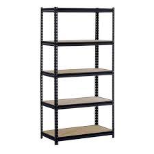 12 in garage shelves u0026 racks garage storage the home depot