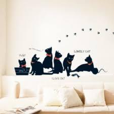 online get cheap wallsticker family aliexpress com alibaba group 1pc cute cats sticker family home room removable wallsticker wallpaper art mural decal decor china