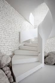 Brick Stairs Design Renaud Dejeneffe Interior Architecture Staircase Pinned