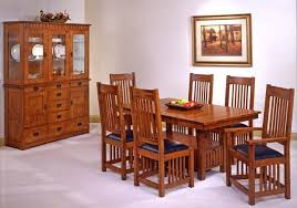 Trend Manor Mission Dining Room Set Broadway Furniture - Mission dining room table
