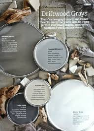 paint colors in grays that are inspired by weathered wood with