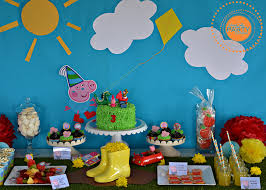 peppa pig party staceycakes peppa pig george pig 3rd birthday party