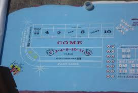 Crap Table For Sale Las Vegas Club Casino Authentic Craps Layout Table Felt For Sale