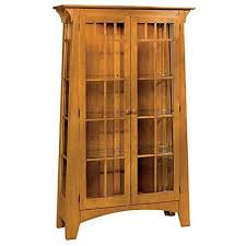 mission style china cabinet woodworking project paper plan to build mission style contemporary