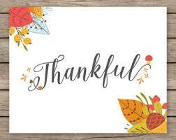 thankful printable etsy