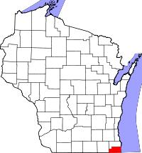 kenosha map kenosha county wisconsin