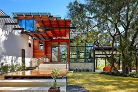 2 house with pool rancher morphed into sustainable 2 storey house with bridged pool