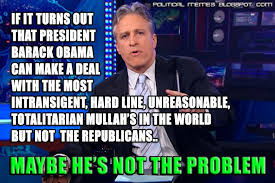 Jon Stewart Memes - political memes jon stewart government shutdown meme