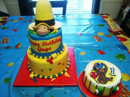 curious george birthday cake curious george 1st birthday cakecentral