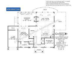 floor plan cottage walkers cottage house plan house plans by garrell associates inc