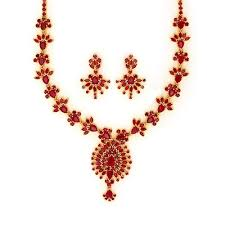 necklace ruby images Ruby necklace set at rs 200000 onword paschim vihar new delhi jpg