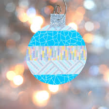 the tiny funnel recycled plastic and washi tape ornaments