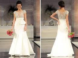 jeweled wedding dresses waist ivory 2011 wedding dress with jeweled bodice and cap sleeves