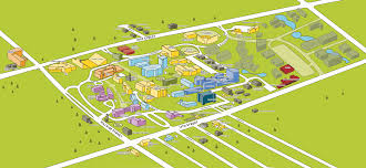 Map Of Wichita Ks Where Is Kstate Olathe Located University Addresses Central Mail